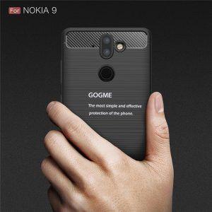 Carcasa de fibra de carbono para el Nokia 9