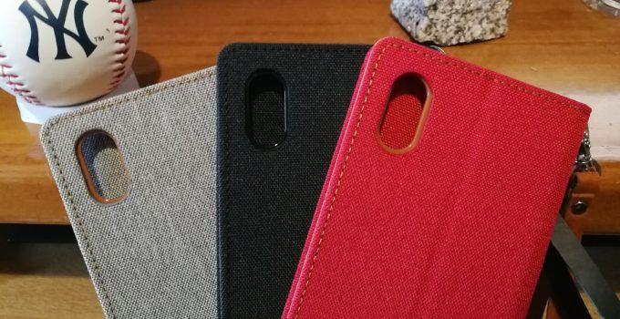 Fundas con tapa para iPhone X