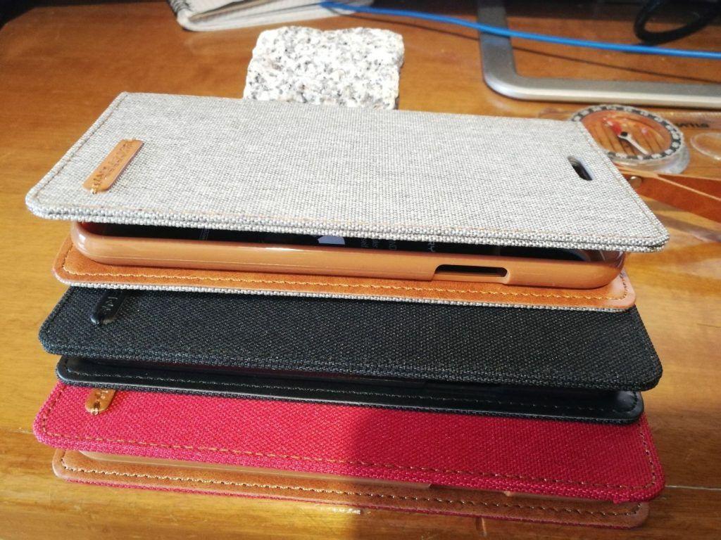 Fundas de tela de alta calidad y silicona en interior para iphone X