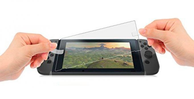 protector pantalla nintendo switch