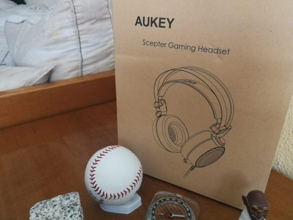 Cascos gaming baratos Aukey análisis