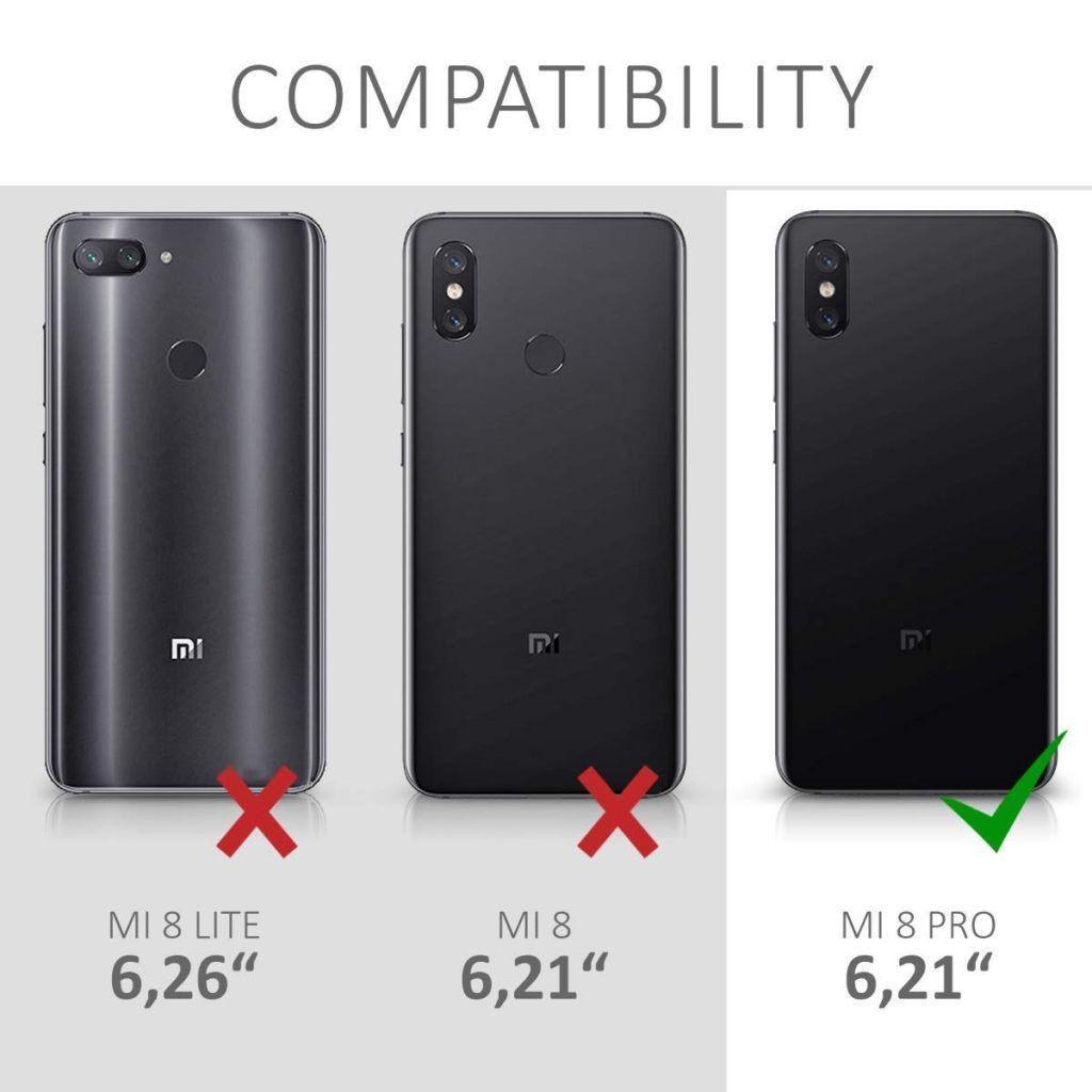Diferentes fundas modelos Xiaomi Mi 8 Pro