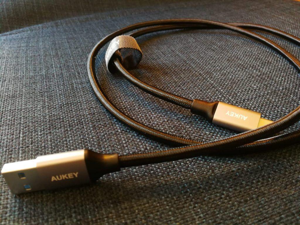 detalle del mejor cable usb tipo c 3.0 a usb