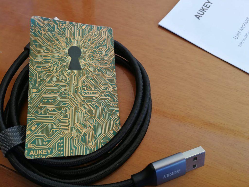 tarjeta de garantia del mejor cable usb a usb tipo c