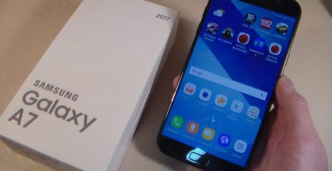 mejor protector de pantalla Samsung Galaxy A7